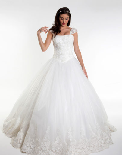 robe de mariée - sublime france - princesse - rosabella - face-82