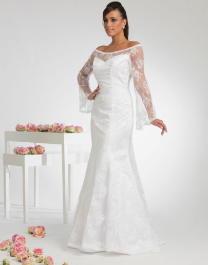 robe de mariée-sublimefrance-sirene-fourreau-Diana-face-6