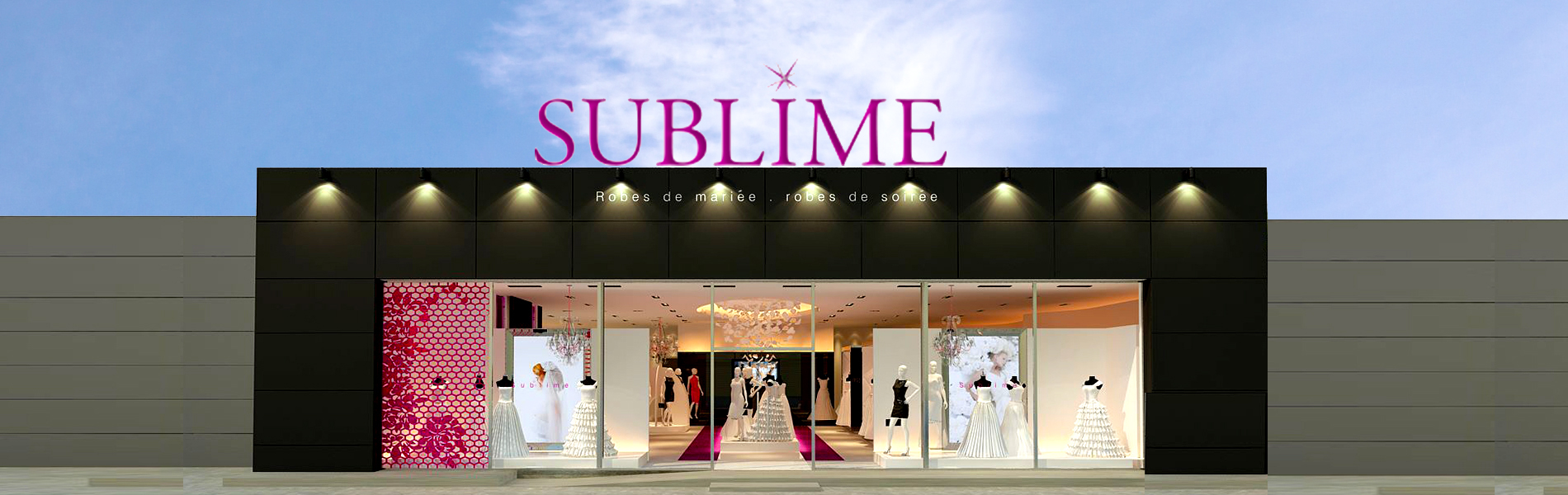 sublimefrance - showroom - herblay - boutique mariage
